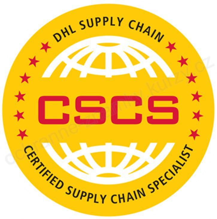 CSCS DHL SUPPLY CHAIN CERTIFIED SUPPLY CHAIN SPECIALIST - ochranná známka