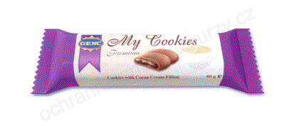 GENC My Cookies Premium Cookies with Cocoa Cream Filling - ochranná známka