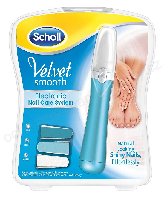 scholl electronic nail care system